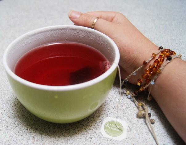 Rose hip tea.